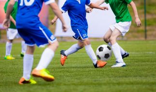 Fußballer stirbt beim Training. (Foto)