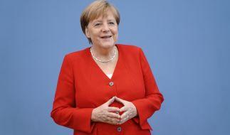 Merkel spricht Klartext. (Foto)