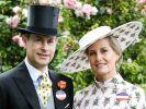 Gräfin Sophie von Wessex, hier mit ihrem Ehemann Prinz Edward, entging nur haarscharf einem katastrophalen Unfall. (Foto)