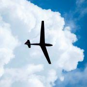 Segelflieger kollidieren in der Luft - Pilot schafft Absprung mit Fallschirm (Foto)