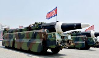 Neue Raketentests durch Nordkorea verunsichern Japan, Südkorea und die USA. (Foto)