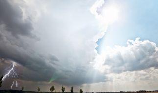 Die Unwetter-Gefahr steigt in den kommenden Tagen. (Foto)