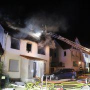 Vater und 2 Töchter sterben bei Hausbrand! Löste der Mann eine Explosion aus? (Foto)