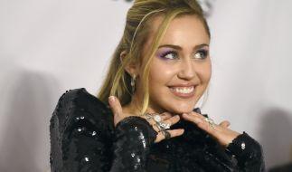 Miley Cyrus verzückt ihre Fans bei Instagram. (Foto)