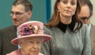 Auch Kate Middleton durfte royale Regeln brechen. (Foto)