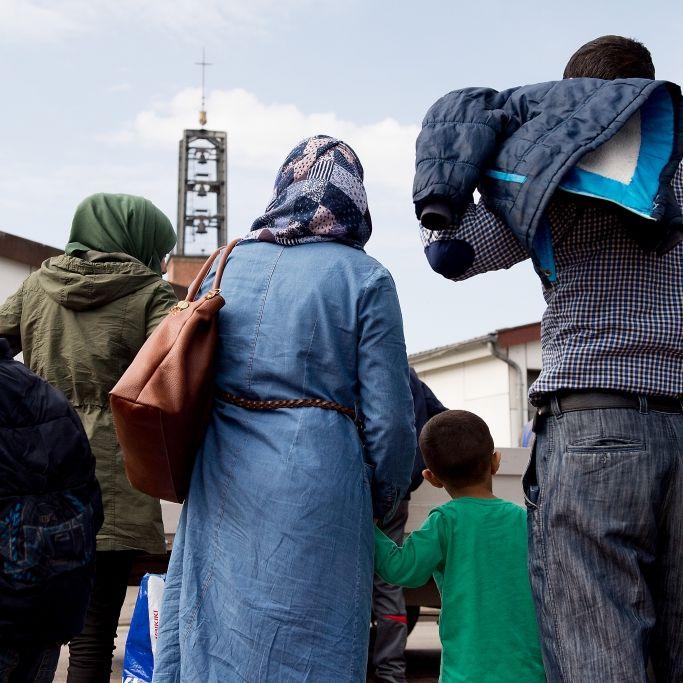 Neuregelung! DIESE Flüchtlinge dürfen nun ihre Familie holen (Foto)