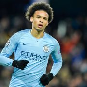 Leroy Sane in action.