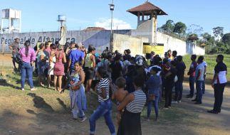 Bei Kämpen zweier rivalisierender Banden in einem Gefängnis im brasilianischen Altamira sind laut Strafvollzugsbehörde 57 Menschen getötet worden. (Foto)