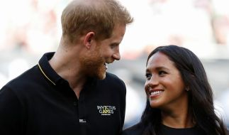Prinz Harry und Meghan Markle. (Foto)