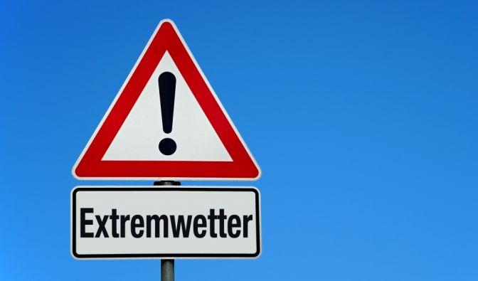 Unwetter-Warnung im August 2019aktuell