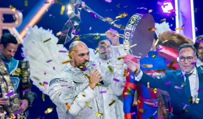 """Max Mutzke war der Astronaut. Er gewann """"The Masked Singer"""" 2019. (Foto)"""