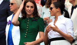 Kate Middleton und Meghan Markle sorgen wieder mal für Schlagzeilen. (Foto)