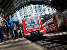 Hauptbahnhof Frankfurt wieder frei