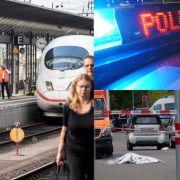 Bahnsteig-Tragödie, Schwert-Mord und Koffer-Leiche (Foto)
