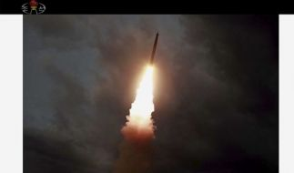 Erneut gab es in Nordkorea mehrere Waffentests. (Foto)
