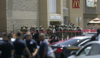 In einem Einkuafszentrum in El Paso hat ein Mann mehrere Menschen erschossen. (Foto)