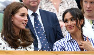 Ob Kate Middleton gemeinsam mit Meghan Markle deren Geburtstag in inniger Zweisamkeit feiern wird? (Foto)