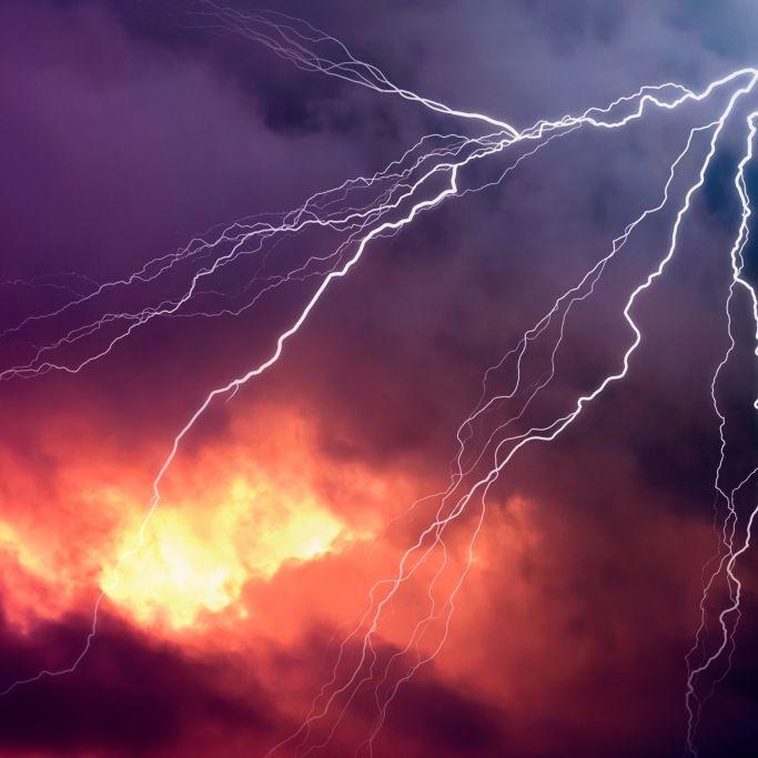 Superzellen-Alarm! HIER drohen schwere Gewitter und Überschwemmungen (Foto)