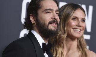 Endlich verheiratet: Tom Kaulitz und Heidi Klum. (Foto)