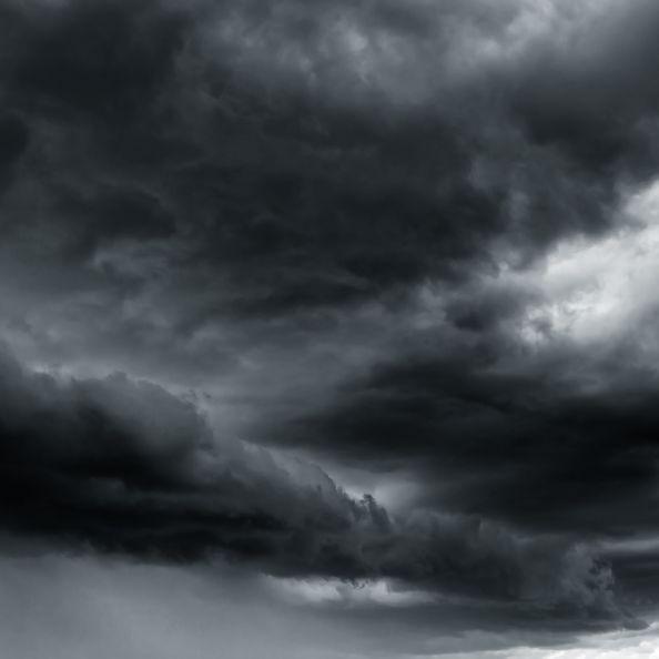 """Unwetter-Warnung! Sturmtief """"Yap"""" bringt Gewitter, Starkregen + Hagel (Foto)"""
