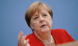 Momentan befindet sich Angela Merkel im Urlaub. (Foto)