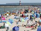 An der Ostseeküste vermehren sich im Rekordsommer 2019 fleischfressende Bakterien rasant schnell im aufgeheizten Wasser. (Foto)