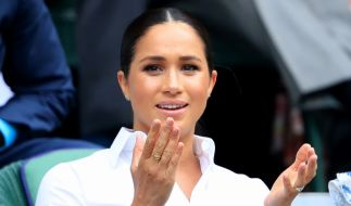 Herzogin Meghan Markle war auch in der Woche nach ihrem 38. Geburtstag nicht vor schlechter Presse gefeit, wie ein Blick in die Royals-News belegt. (Foto)