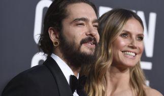 Heidi Klum und Tom Kaulitz sind offiziell verheiratet - und die GNTM-Chefin verwöhnt ihren Ehemann mit sexy Oben-ohne-Fotos bei Instagram. (Foto)