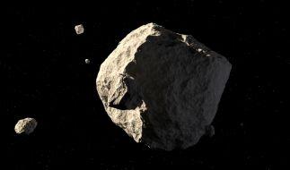 Vier Asteroiden fliegen in dieser Woche an der Erde vorbei. (Foto)