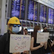 Flughafen wieder in Betrieb - Trum bietet China persönliches Treffen an (Foto)