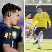 FC Bayern will Coutinho und Cuisance - BVB leiht Sergio Gómez aus