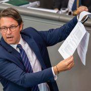 Neue Bußgelder, Strafen und Regeln: DAS wird Minister Scheuer ändern (Foto)