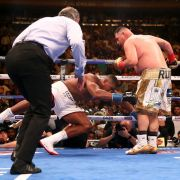 Andy Ruiz Jr. schlägt Box-Champ Anthony Joshua in der 8. Runde im Madison Square Garden KO
