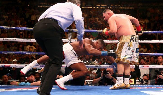 Andy Ruiz Jr. schlägt Box-Champ Anthony Joshua in der 8. Runde im Madison Square Garden KO (Foto)