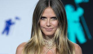 Heidi Klum erntet für ihr Brautkleid reichlich Spott. (Foto)