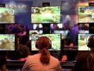 """Besucher der Gamescom spielen """"World of Warcraft"""" des Spielentwicklers Blizzard Entertainment. (Foto)"""