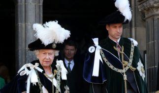 Queen Elizabeth macht sich Sorgen um Prinz William. (Foto)