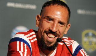 Ex-Bayer Franck Ribery wechselt zum AC Florenz. (Foto)