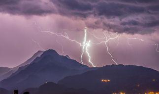 In der Toskana drohen schwere Gewitter. (Foto)