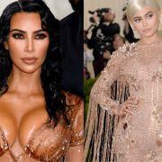 Kim Kardashian und Kylie Jenner haben sich auf Instagram eine Photoshop-Panne geleistet. (Foto)