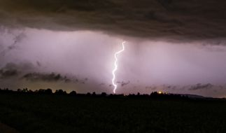 Am Wochenende drohen in einigen Regionen erneut Unwetter. (Foto)