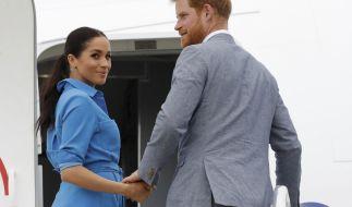 Meghan Markle und Prinz Harry flogen in einem 16 Millionen Euro teuren Jet in den Urlaub. (Symbolbild) (Foto)