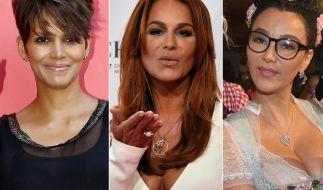 Machen auch mit über 50 eine gute Figur: Halle Berry, Andrea Berg und Verona Pooth. (Foto)