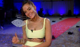 """Janine Pink ist die die Gewinnerin von """"Promi Big Brother"""" 2019. (Foto)"""