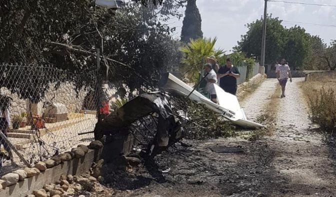 Helikopter-Absturz auf Mallorca