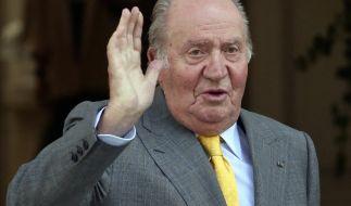 Juan Carlos von Spanien wurden am Samstag drei Bypässe gelegt. (Foto)