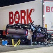Auf der A8 nahe Sindelfingen kam es zum tödlichen Crash.
