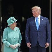 Rüpel-Trump randalierte im Buckingham Palace (Foto)