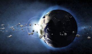In dieser Woche kommen fast täglich Asteroiden in Erdnähe. (Foto)