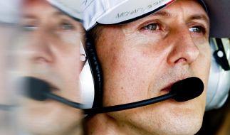 Michael Schumacher lebt seit seinem Skiunfall zurückgezogen. (Foto)